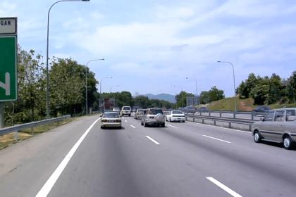 Singapore To Kuala Lumpur From Bus