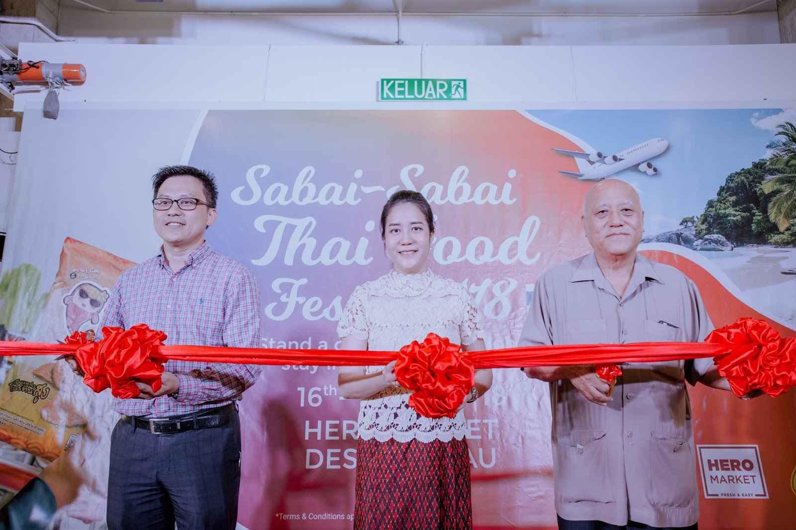 Johor Bahru Sabai Sabai Thai Food Festival